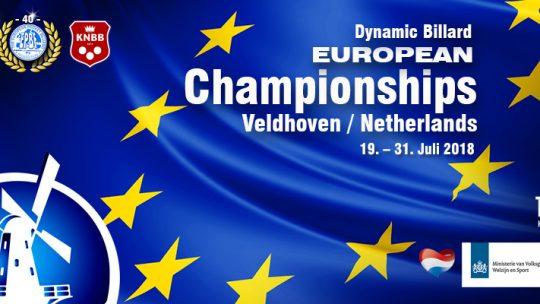 Europameisterschaft in Veldhoven NED (mit David Arda)