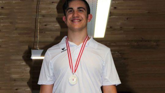 David Arda, 4 Medaillen bei der Jugend ÖM