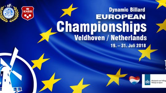 Europameisterschaft in Veldhoven NED (mit David Arda)
