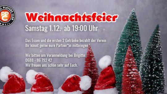 PPC-Weihnachtsfeier